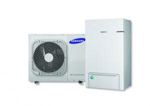 Verschillende Samsung warmtepompen en andere Samsung producten